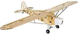 marco madera balsa avion rc