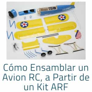 Ensamblar avion rc