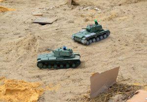 tanques RC de guerra