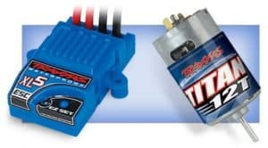 Traxxas Stampede motor
