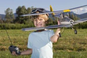 avion teledirigido niños